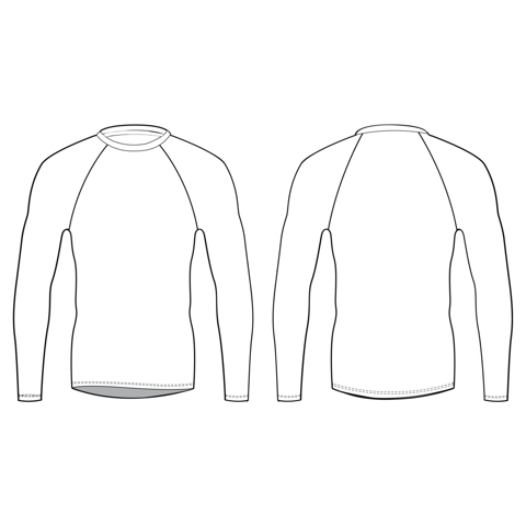 Fitted Long Sleeve Shirt