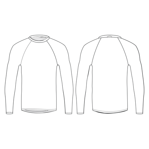Slim Fit Garo Piedurkņu Krekls