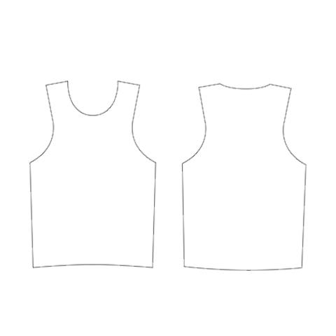 Camiseta Pinnie sin mangas entallada