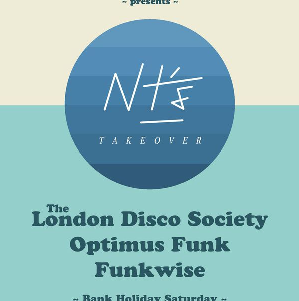 Funkwise Live at NT's  Recorded live at  NT's Bar, London . Discofunk Takeover August 2016