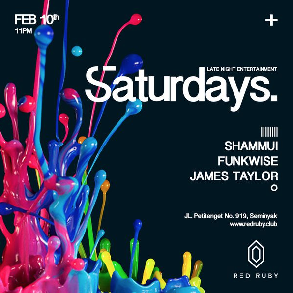 3hr journey through deep soulful percussive sounds at  Red Ruby  club, Bali