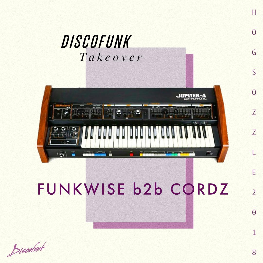 Funkwise B2B Cordz at  Hogsozzle Festival  UK May 2018