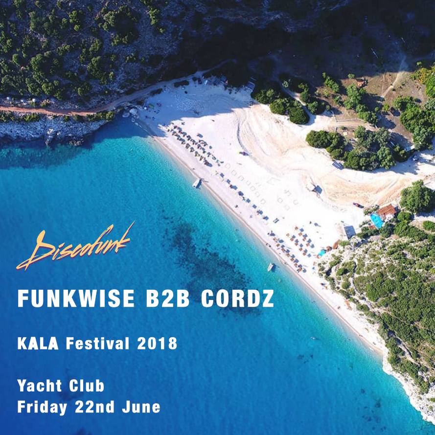 Funkwise B2B Cordz live at the Yacht Club,  KALA Festival  2018