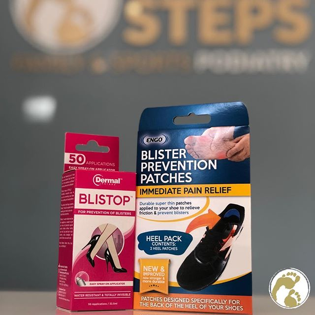 Have problems with blisters? We have amazing products that help with those painful irritations #betterstepspodiatry #podiatrist #blisters #running #brisbanepodiatrist #bulimbabusiness #bulimba #hawthorne #biomechanics #orthotics #feet