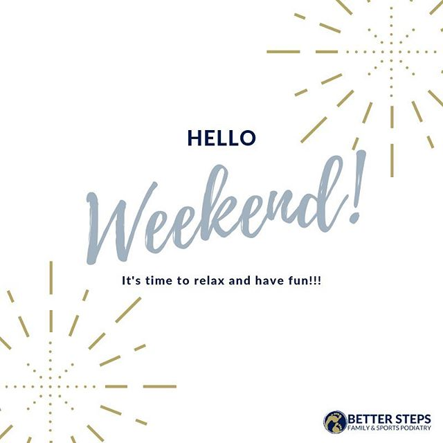 Hello long weekend! You're looking mighty fine! #betterstepspodiatry #brisbanepodiatrist #bulimbapodiatrist #bulimbabusiness #smallbusiness #podiatry #feet #kidsfeet #running #orthotics