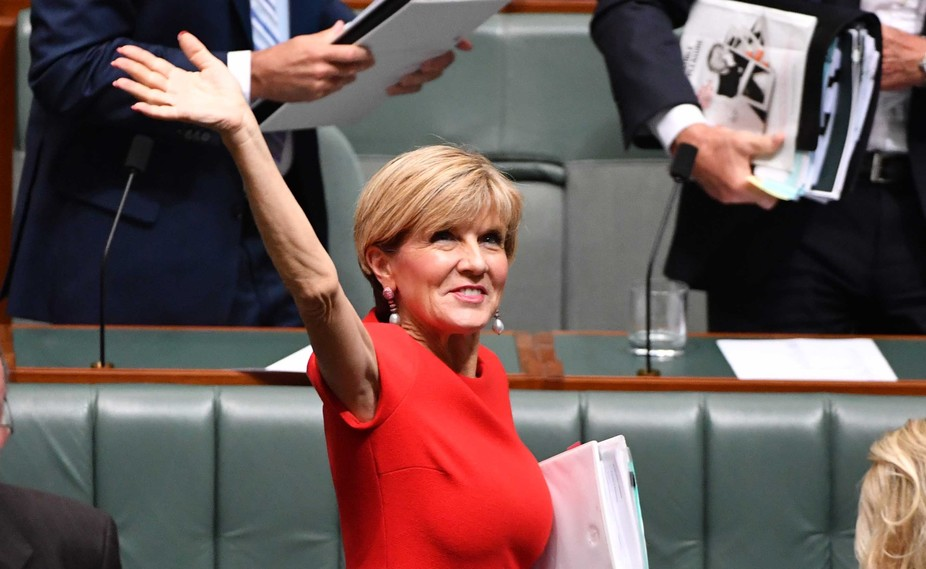 Foreign Minister Julie Bishop has recalled all Australian diplomats to review Australia's foreign policy settings next month. AAP/Mick Tsikas