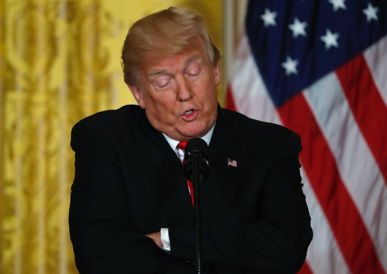 … although it is a little bit about Donald Trump. Reuters/Jonathan Ernst
