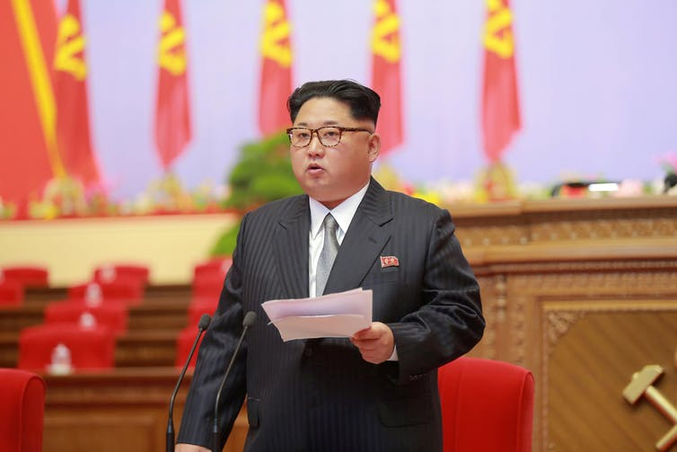 At the top of the regional challenges is North Korea, led by Kim Jong-un. Reuters/KCNA