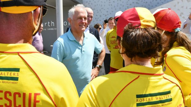 Malcolm Turnbull was quickly on the defensive.Photo: Mick Tsikas