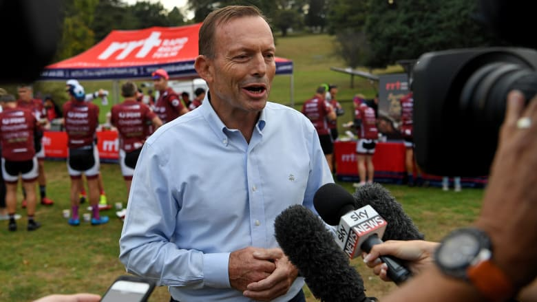 Few disagree Tony Abbott has contributed to Malcolm Turnbull's slump. Photo: AAP