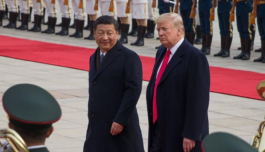 Much attention will be on the next meeting between Chinese President Xi Jinping and US President Donald Trump at the G20 in late November. AAP/EPA/Roman Pilipey
