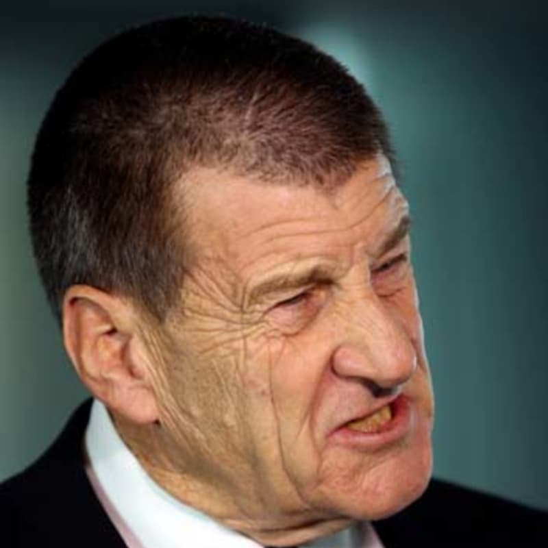 "Jeff Kennett was, you might say, ""mad as hell'' and ""not going to take it any more''.    Photo: Angela Wylie"