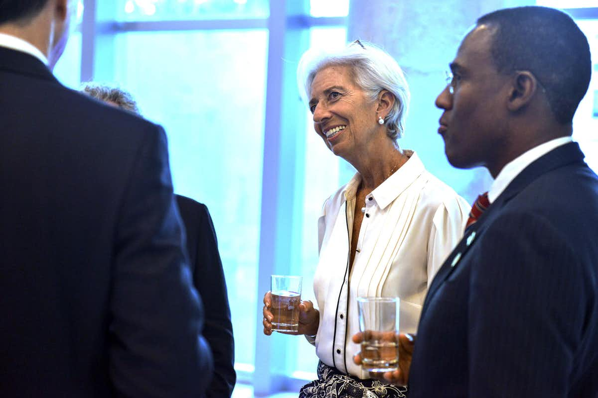 International Monetary Fund managing director Christine Lagarde at the G20 summit. AAP/EPA/G20 handout
