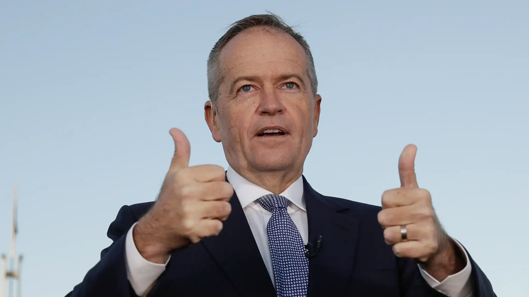 Bill Shorten has rated poorly in the areas of trustworthiness and honesty. Credit: Alex Ellinghausen