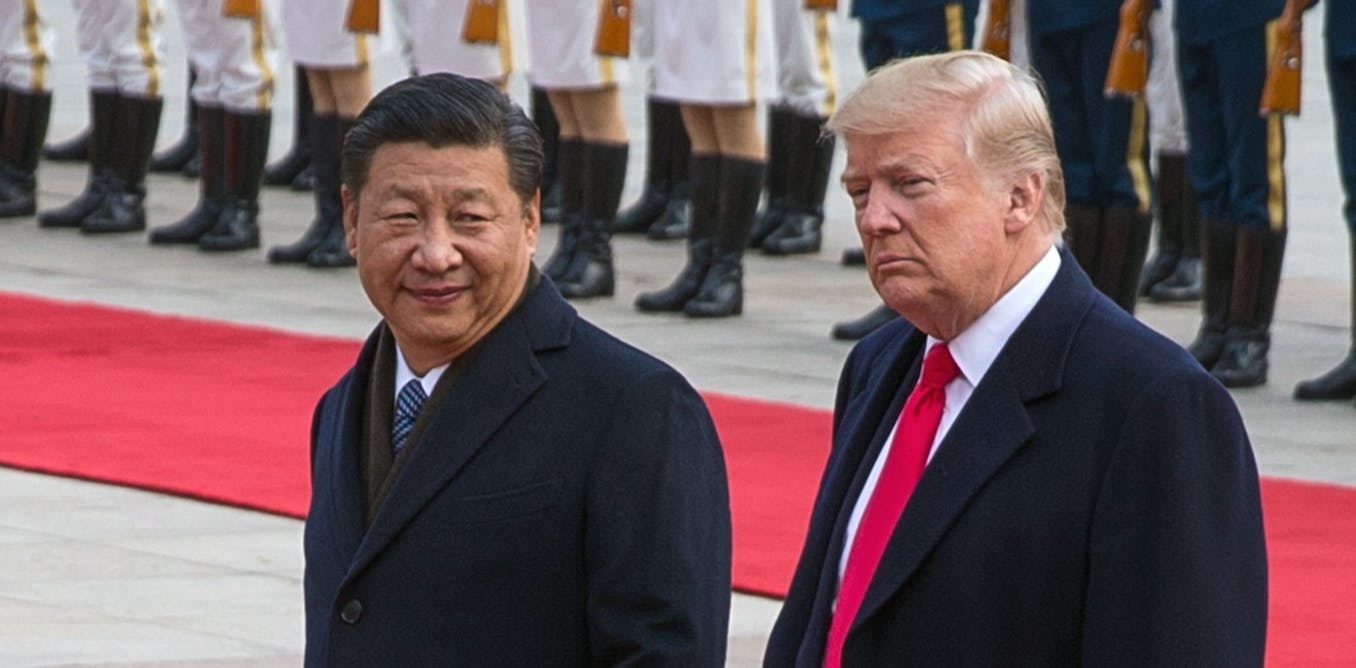 Resolution of the US-China trade dispute will requite the intervention of the two countries' leaders, Xi Jinping and Donald Trump. AAP/EPA/Roman Pilipey