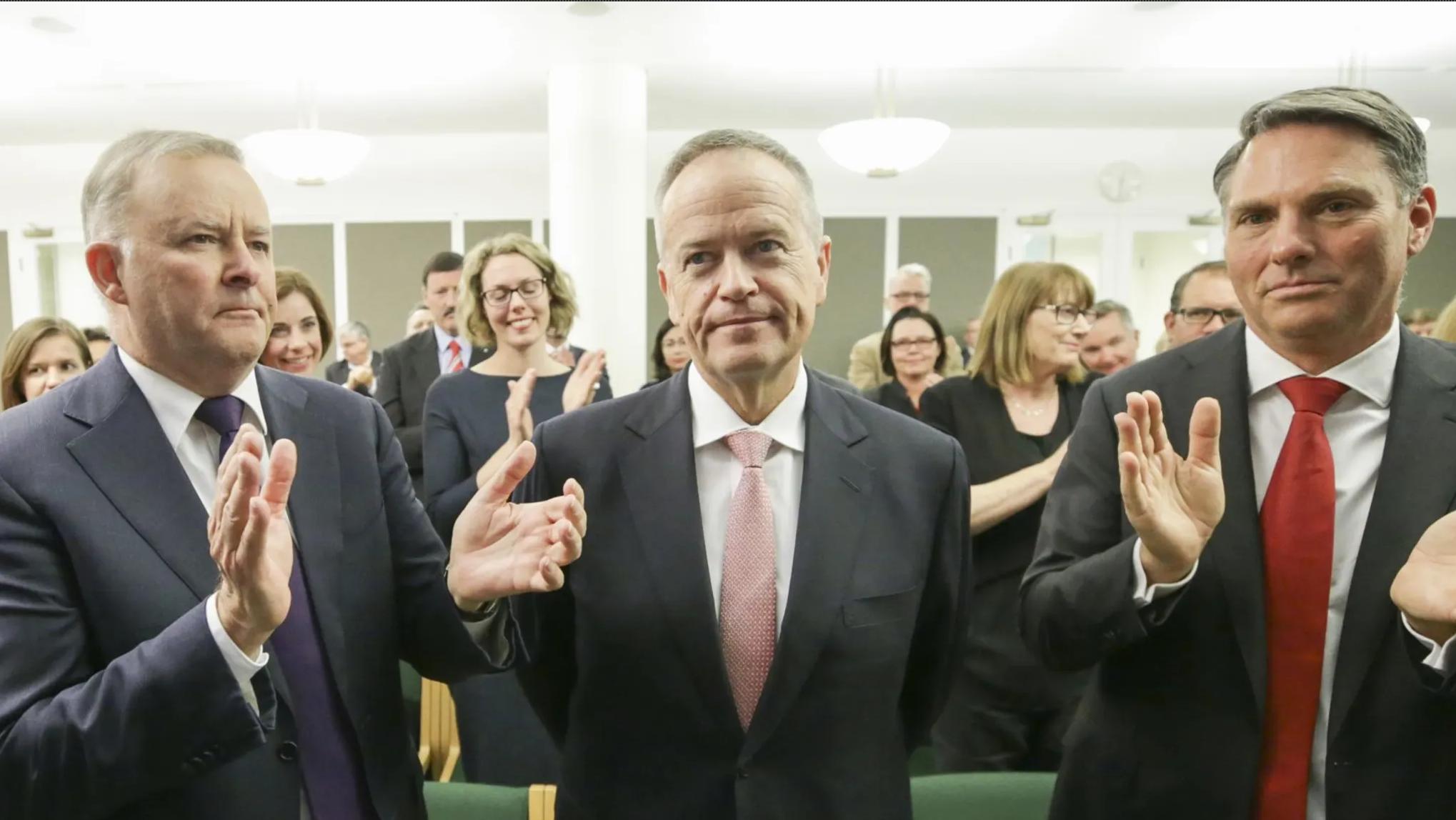Former opposition leader Bill Shorten: may have dodged a bullet. Credit: Alex Ellinghausen