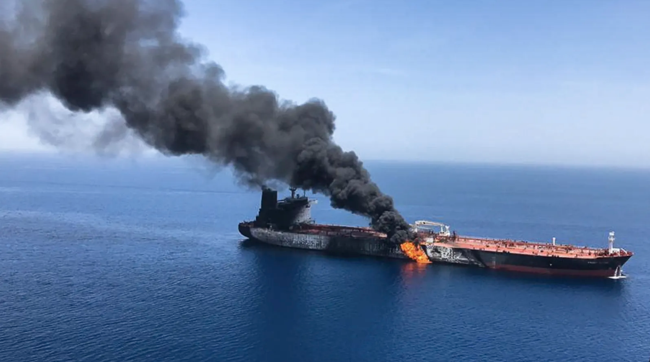 Two oil tankers near the strategic Strait of Hormuz were reportedly attacked by the Iranian Revolutionary Guard. Credit:AP