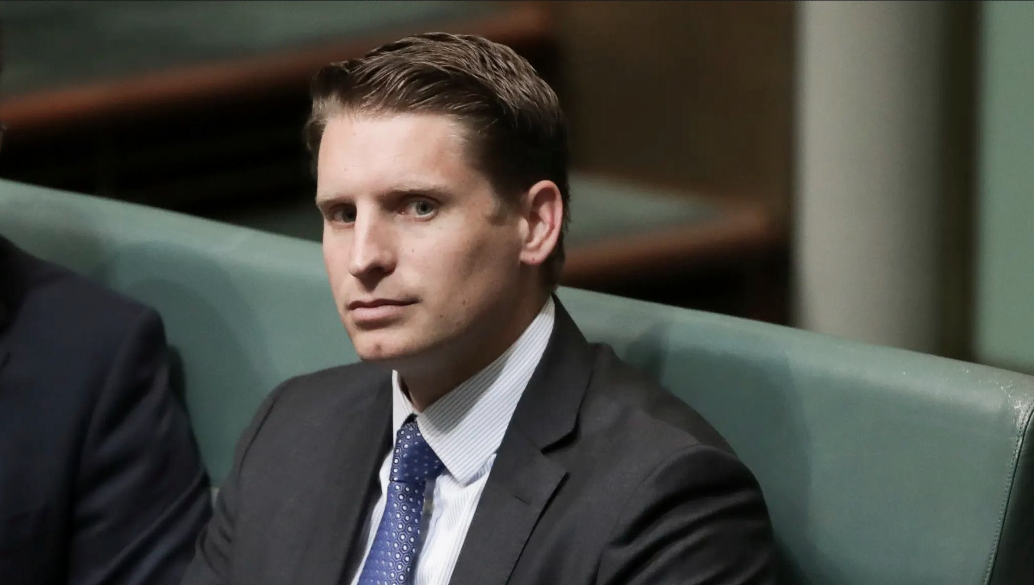 """Former SAS captain Andrew Hastie said """"choices will be made for us"""" unless Australia confronted the reality of China's ambitions. Alex Ellinghausen"""