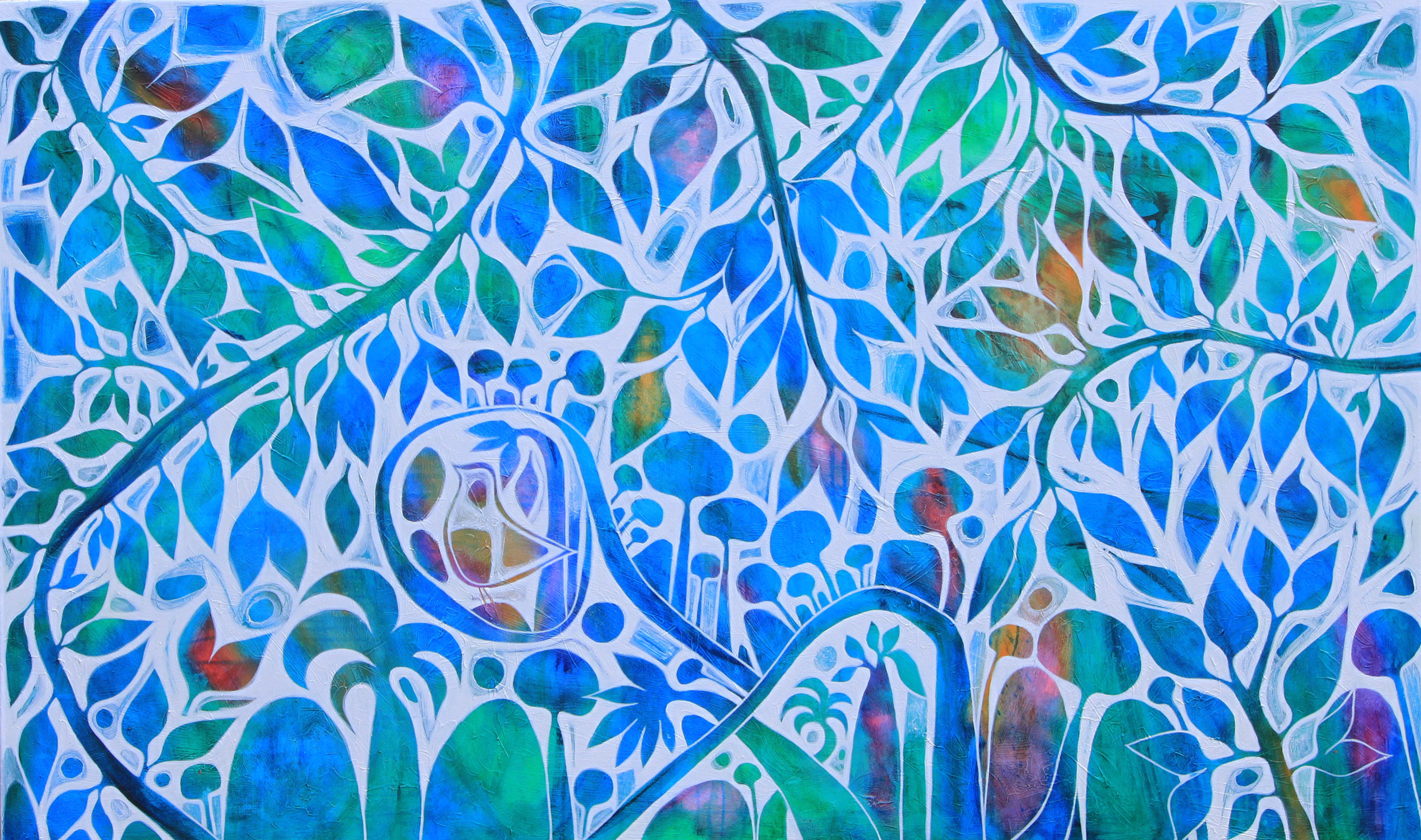Canopy of dreams 152x92cm