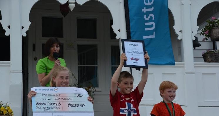 Solvorn Oppvekstsenter har vunne skulekonkurransen i gruppe 1 i alle år sidan starten!