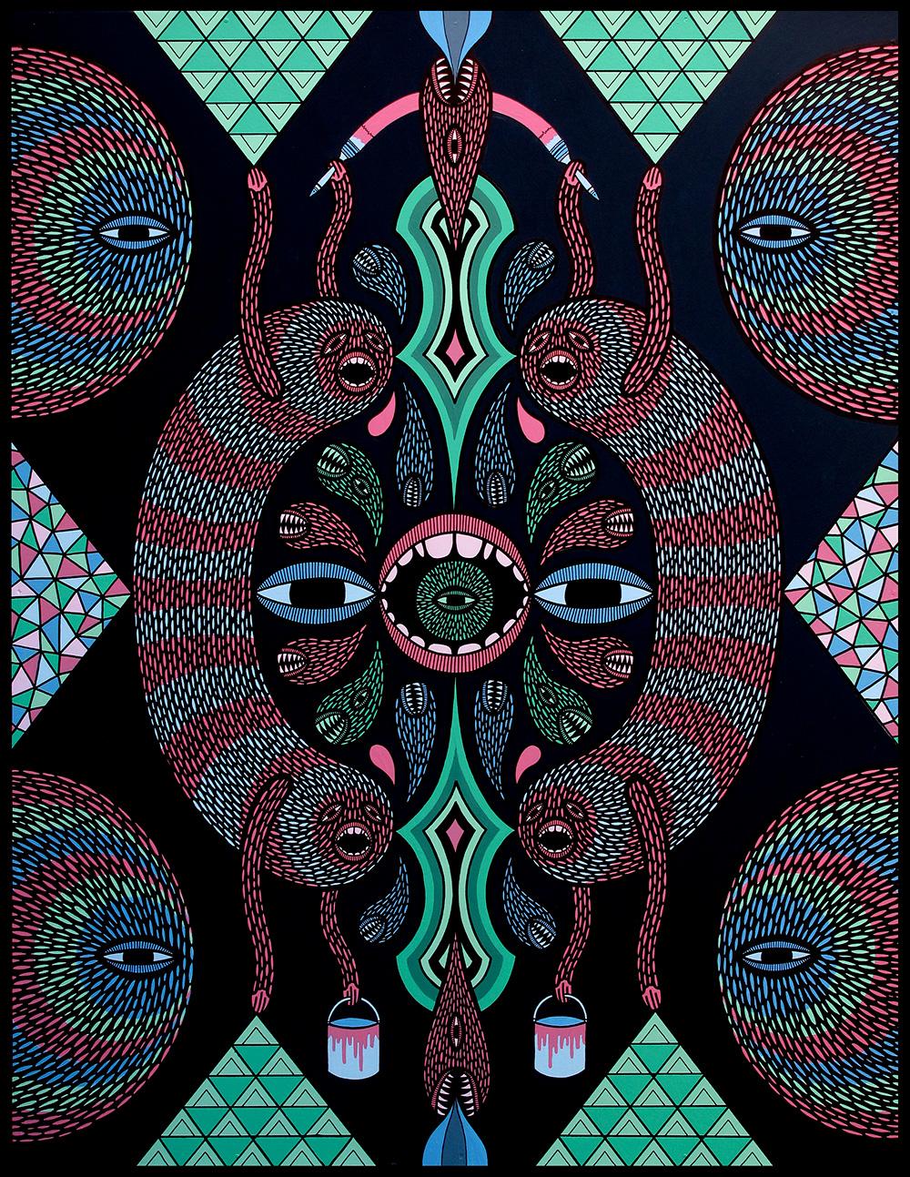 'Painting Infinity'