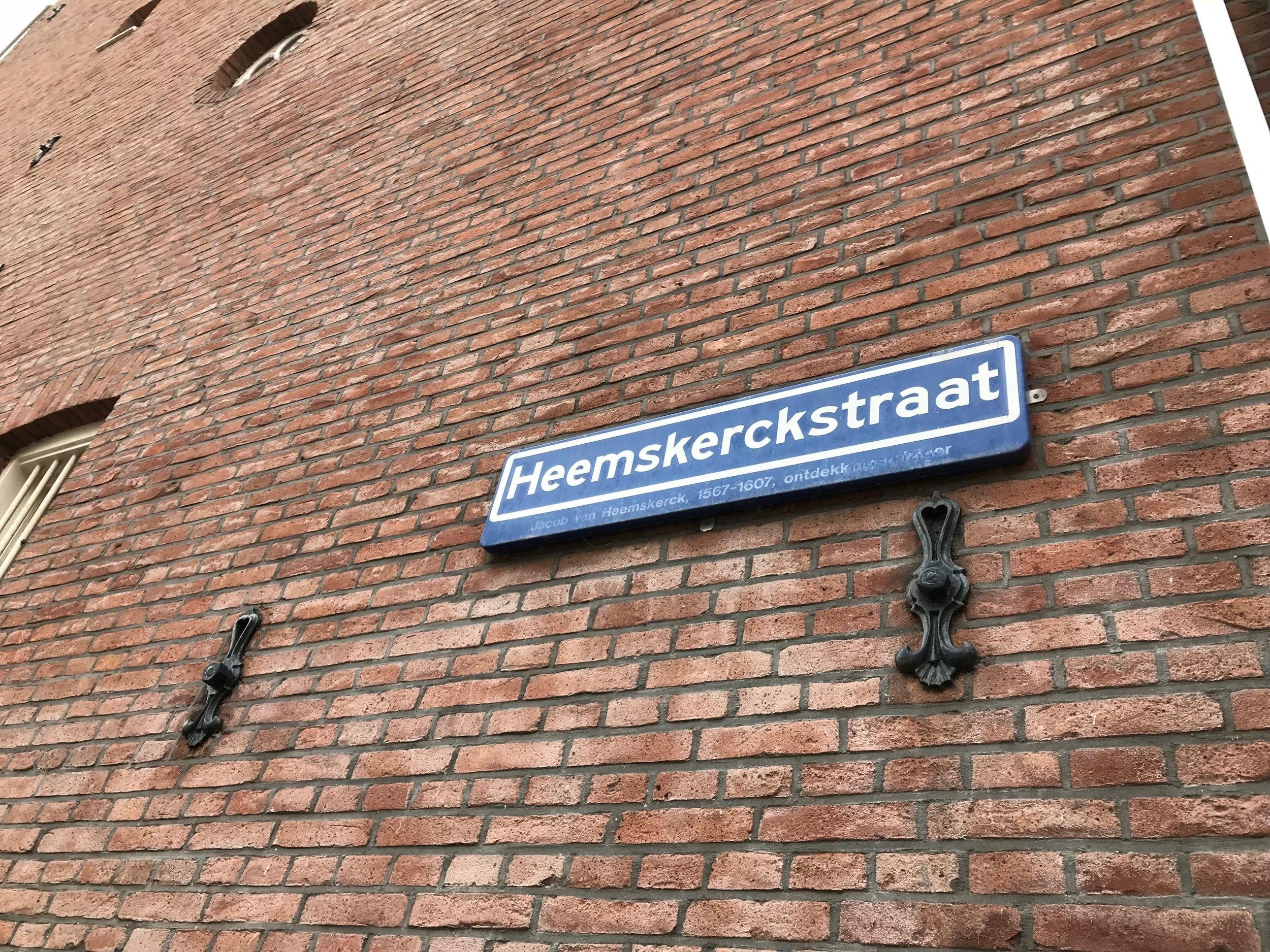 Straatinitiatief Heemskerckstraat -