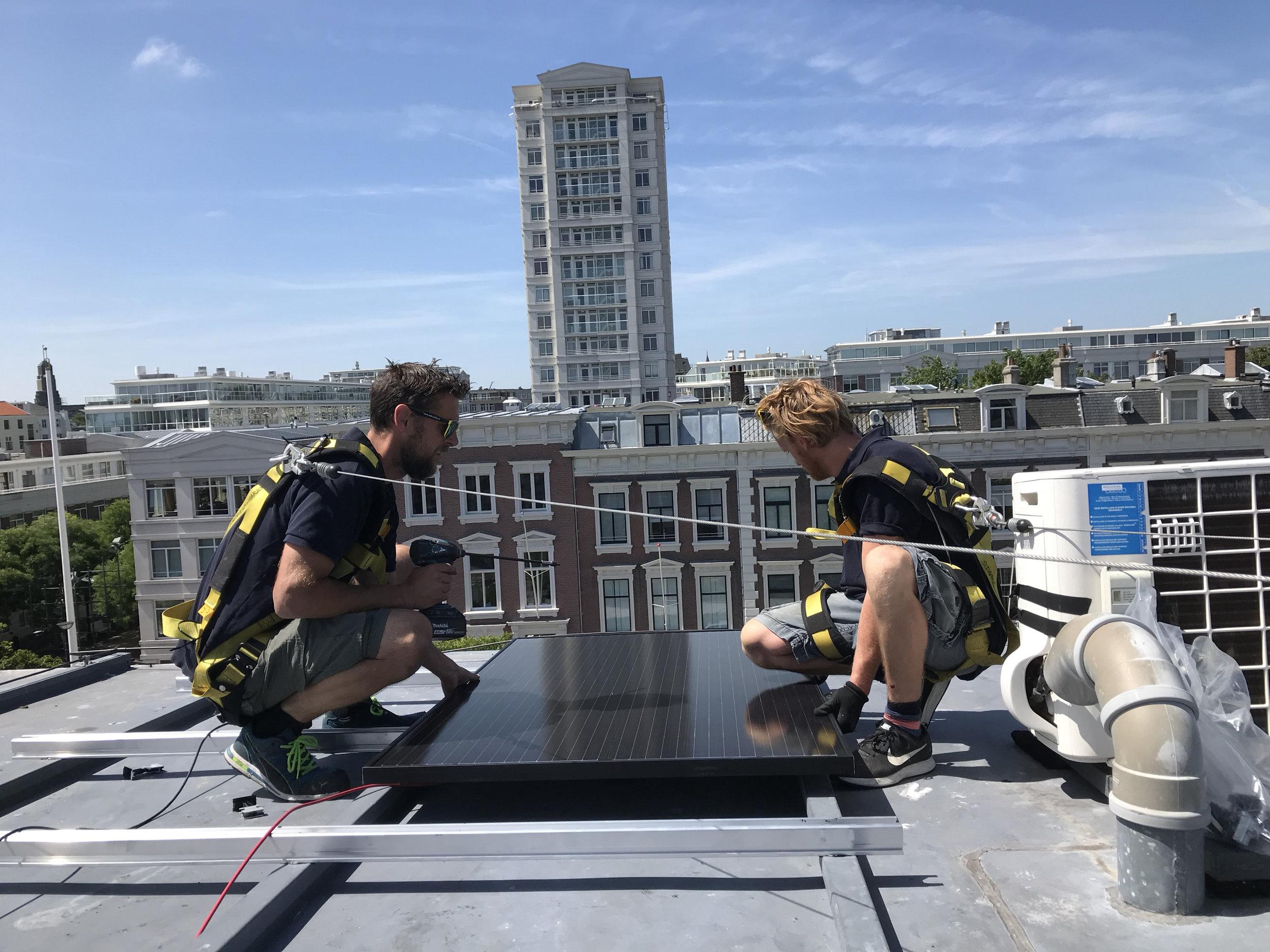 Zonnepanelen Nassauplein Solar Edge Energy Guards