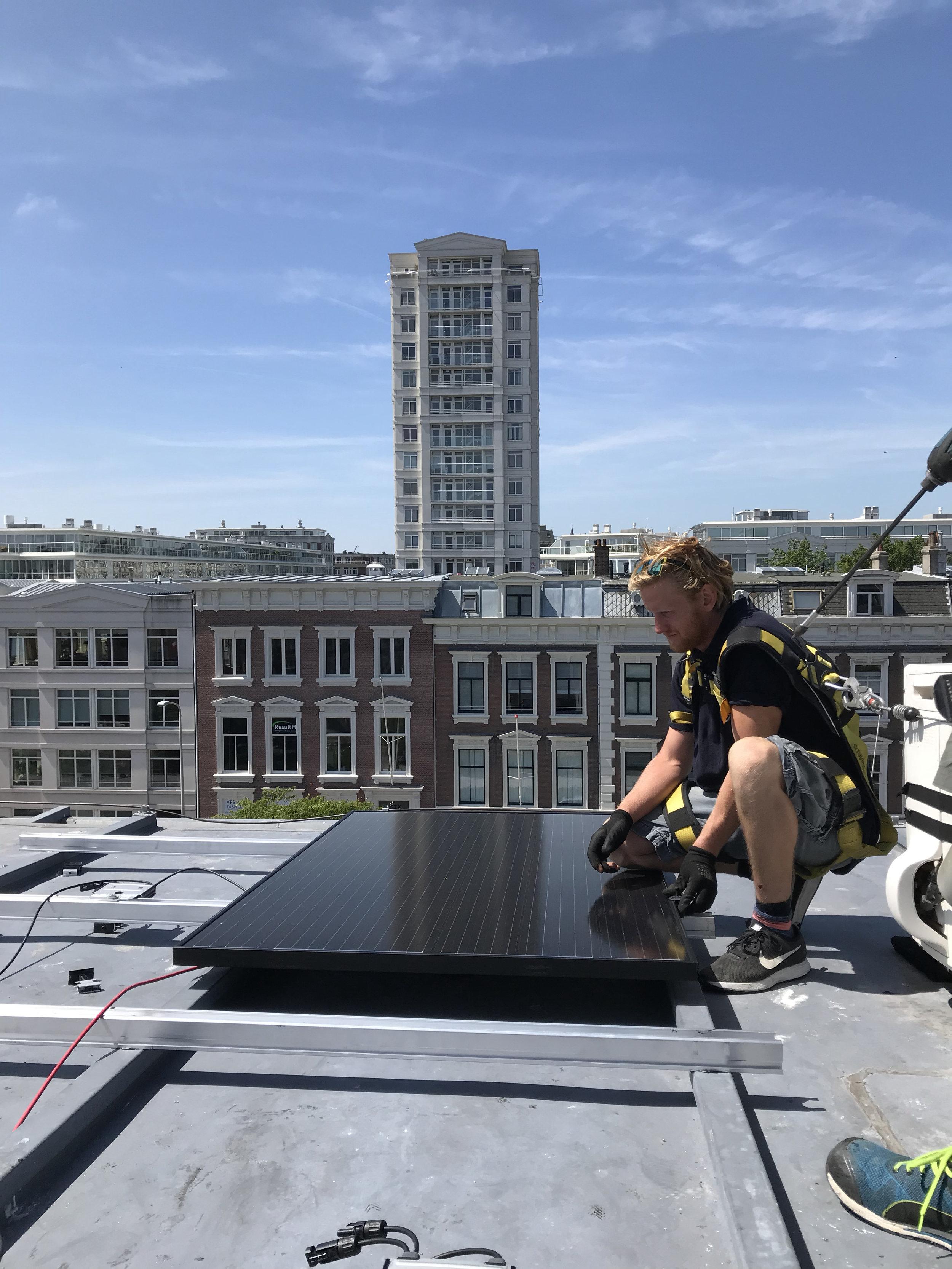 Zonnepanelen Nassauplein -