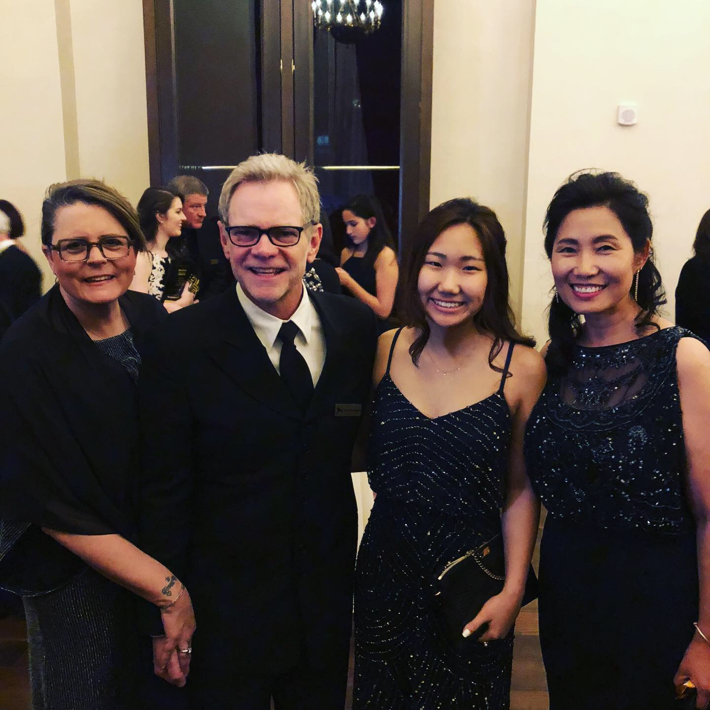With Steven Curtis Chapman