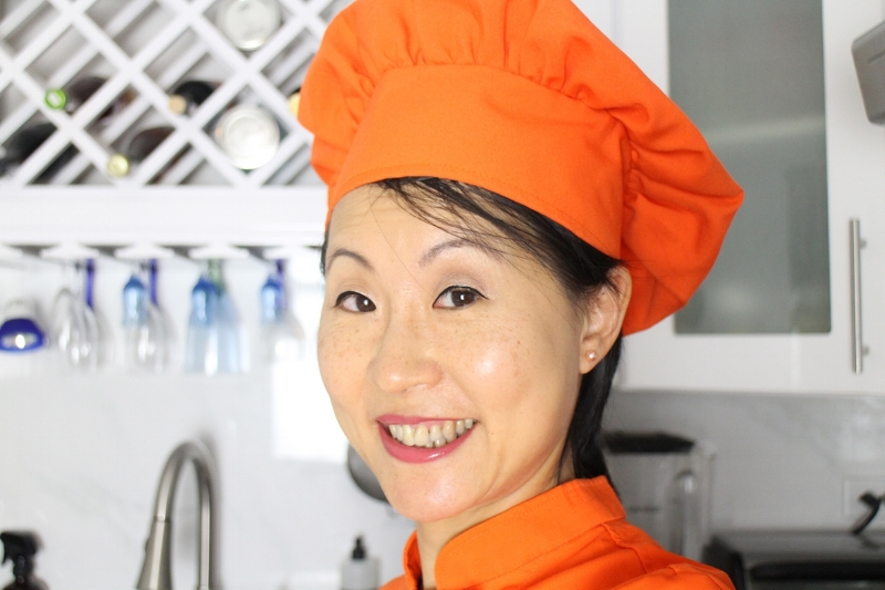 "Louisa Wah , the ""Eat Right Chef"", Integrative Nutrition Health Coach"