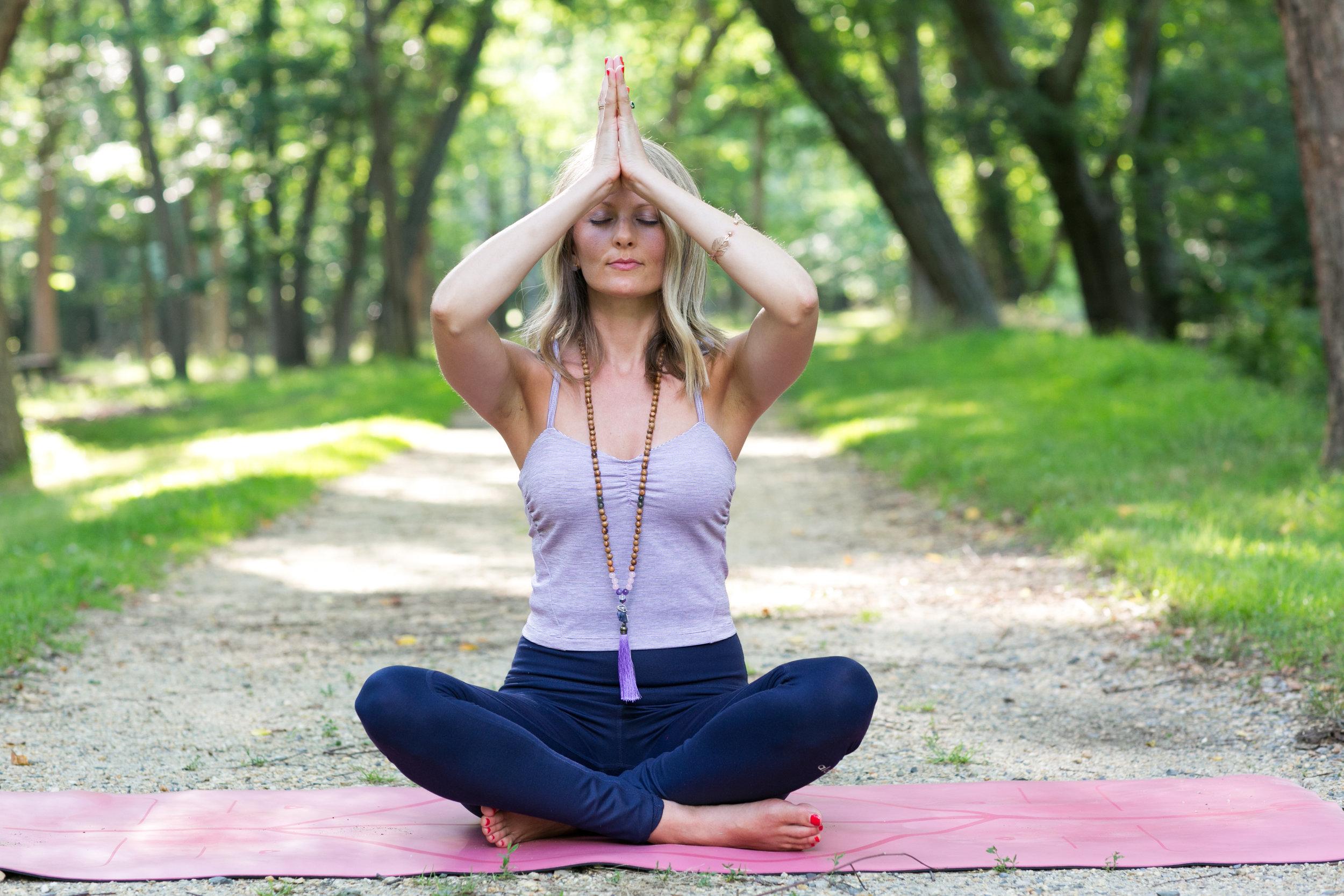 Jeanine Krzyzanowski,  Yoga Teacher, Reiki Practitioner, and Essential Oils Educator