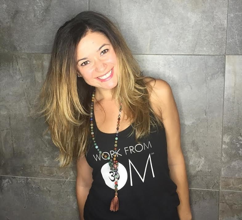 Sarah Vaynerman , Founder of  Work from Om  & Yoga Instructor