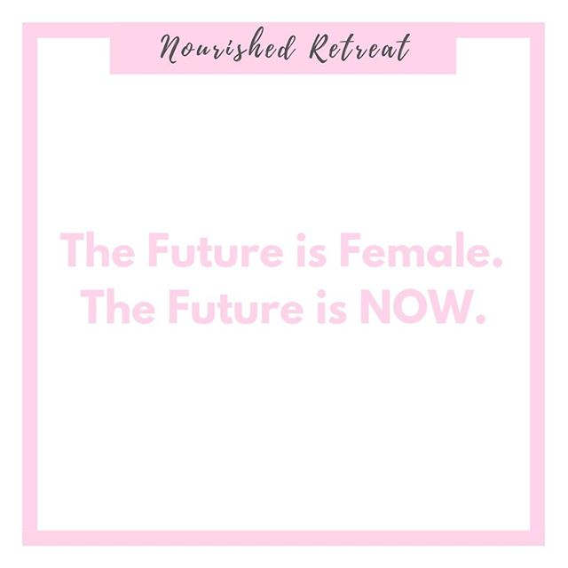 This post is for our moms, our grandmothers, our aunts, our sisters, our best friends, our teachers, our mentors, and anyone who has supported us and showed us what is to be a strong female. Our future isn't tomorrow, it's now.  Be strong, be confident in who you are, and support each other. 🌷🌺🌻⠀ ⠀ #nourishedretreat #thefutureisnow #internationalwomensday #wearestrong #womenempowerment #wellnessconference #wellnessfestival #wellnessevents #nyc #inspirational