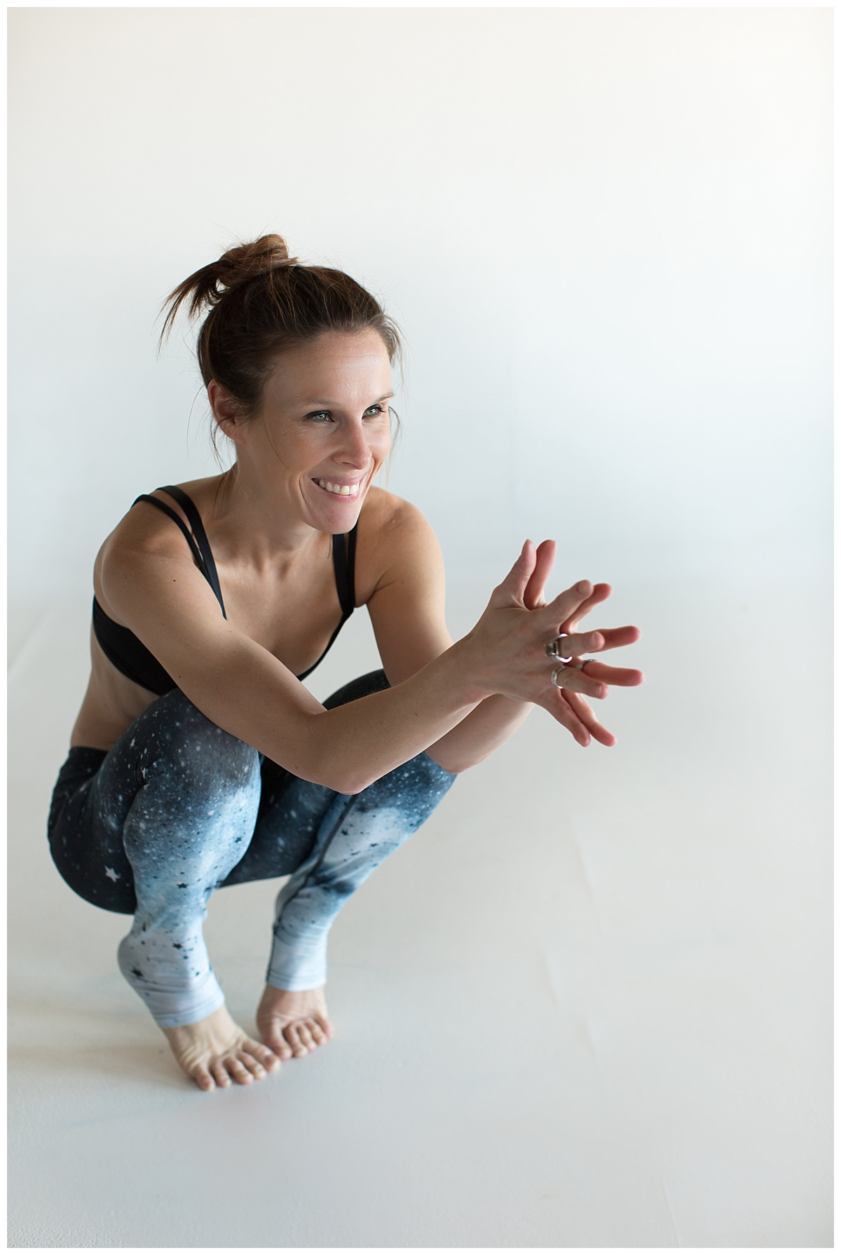 """Bridget Riepl  is the founder of the NJ Yoga Collective and the VibeWell Yoga Festival. Bridget has taught thousands of yoga all over the Jersey Shore since 2010, as well as countless hours studying under transformational humans who have only helped to deepen her spiritual, emotional, physical and mental commitment to the practice. In 2017, Bridget founded the NJ Yoga Collective - NJ's lifestyle guide for wellness, health, happiness, meditation, mindfulness and one of her truest loves, the practice of yoga! Bridget is inspired by connection, her family, nature and getting vulnerable. She is most alive when she is working with others, serving as a catalyst for people seeking to discover their highest self as teachers and practitioners. She listens on a deep level, sees the big picture, and empowers others to live their dreams. Bridget was voted the """"Best Yoga Teacher in Monmouth County"""" in 2016 and 2018 by the readers of Monmouth Health and Life Magazine. When she isn't teaching, writing, talking, inspiring, creating and collaborating, she is on the beach with her kids. You can find her on Instagram at @bridgetriepl and @njyogacollective."""