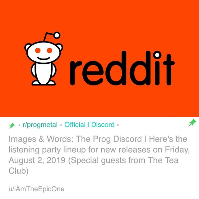 Join us this FRIDAY AT 5:30 EST / 9:30 UTC for a Listening Party Q&A / Live commentary for our new album If/When on the /r/progmetal discord server! Hope to see you there 🙌 #theteaclub #progrock #reddit #discordserver #listeningparty #ama #artrock #psychedelic #ifwhen