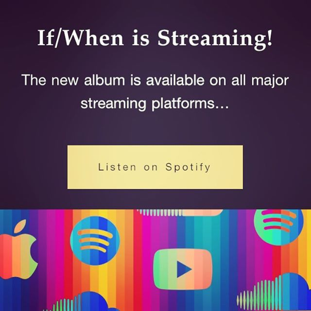 If / When is out on all major streaming platforms! #theteaclub #streaming #spotify #prog #psychedelic #ifwhen #creature