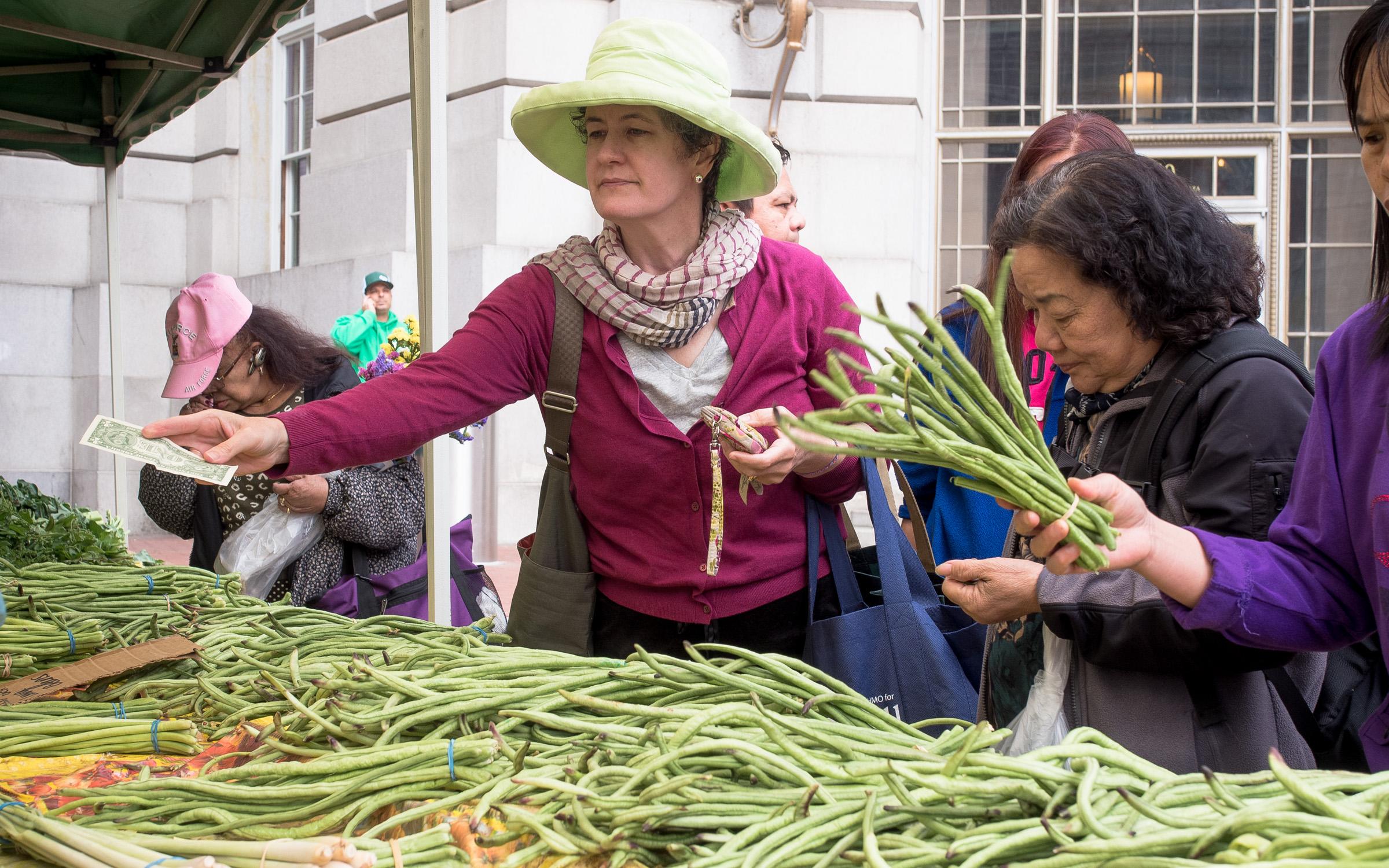 Farmer's Market, San Francisco, 10:30am