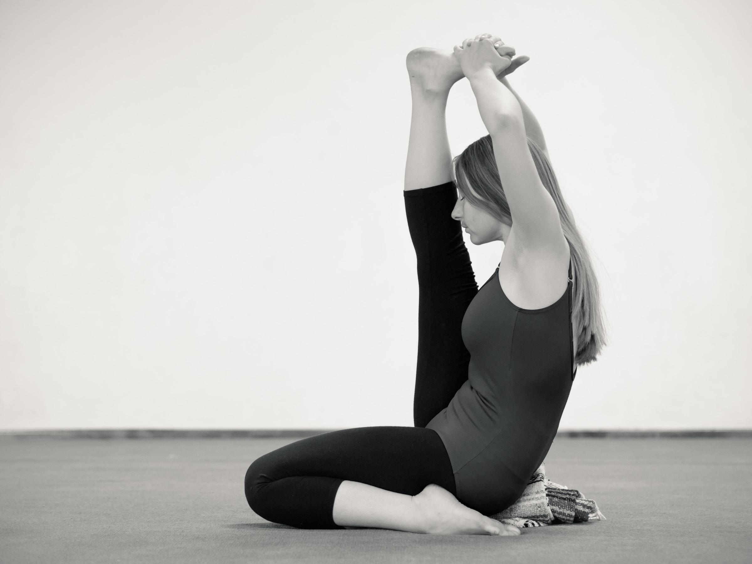 Krounchasana Full Expression, Seven Centers Yoga Arts, Sedona