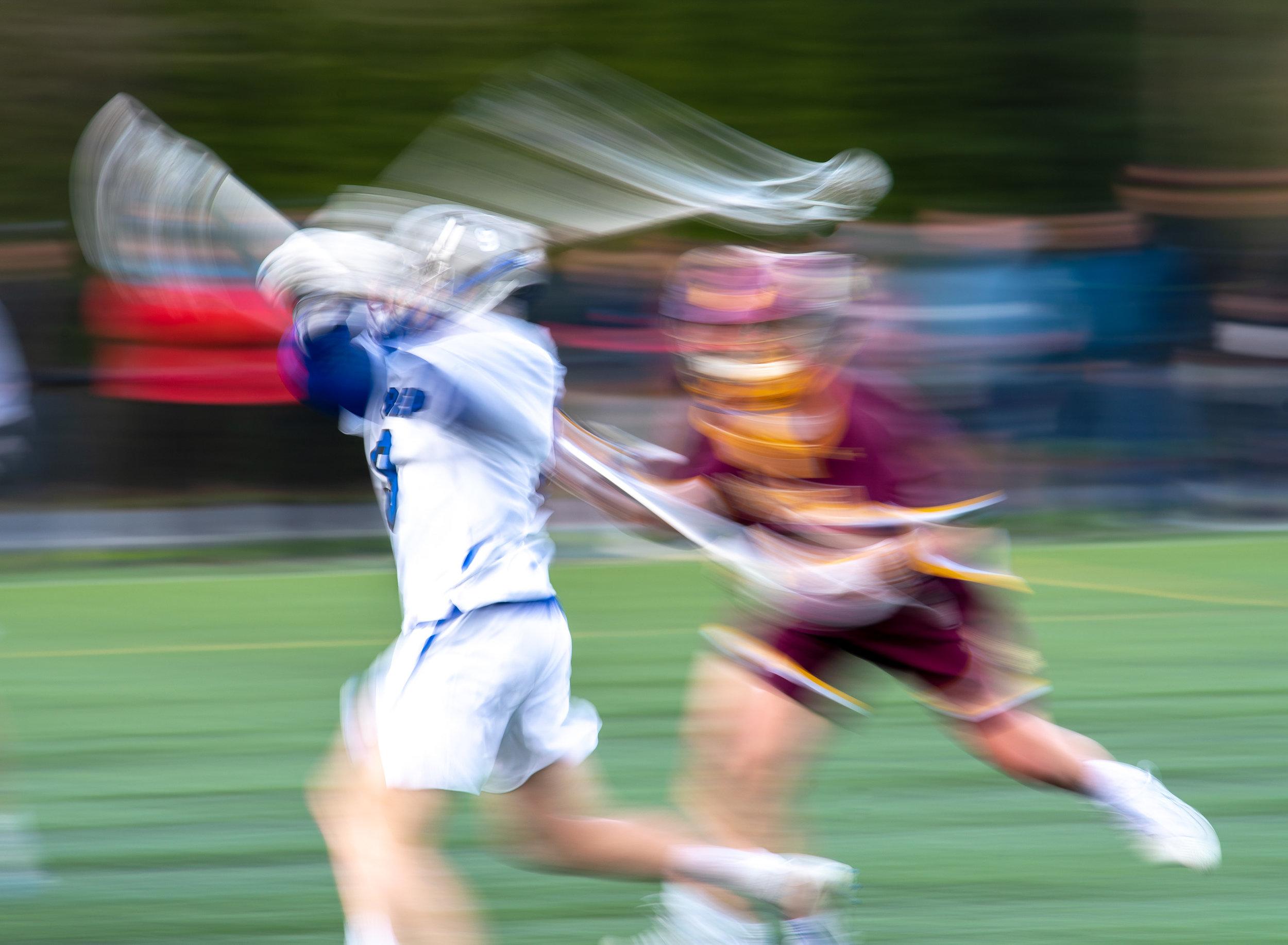 Lacrosse at 1/25 sec