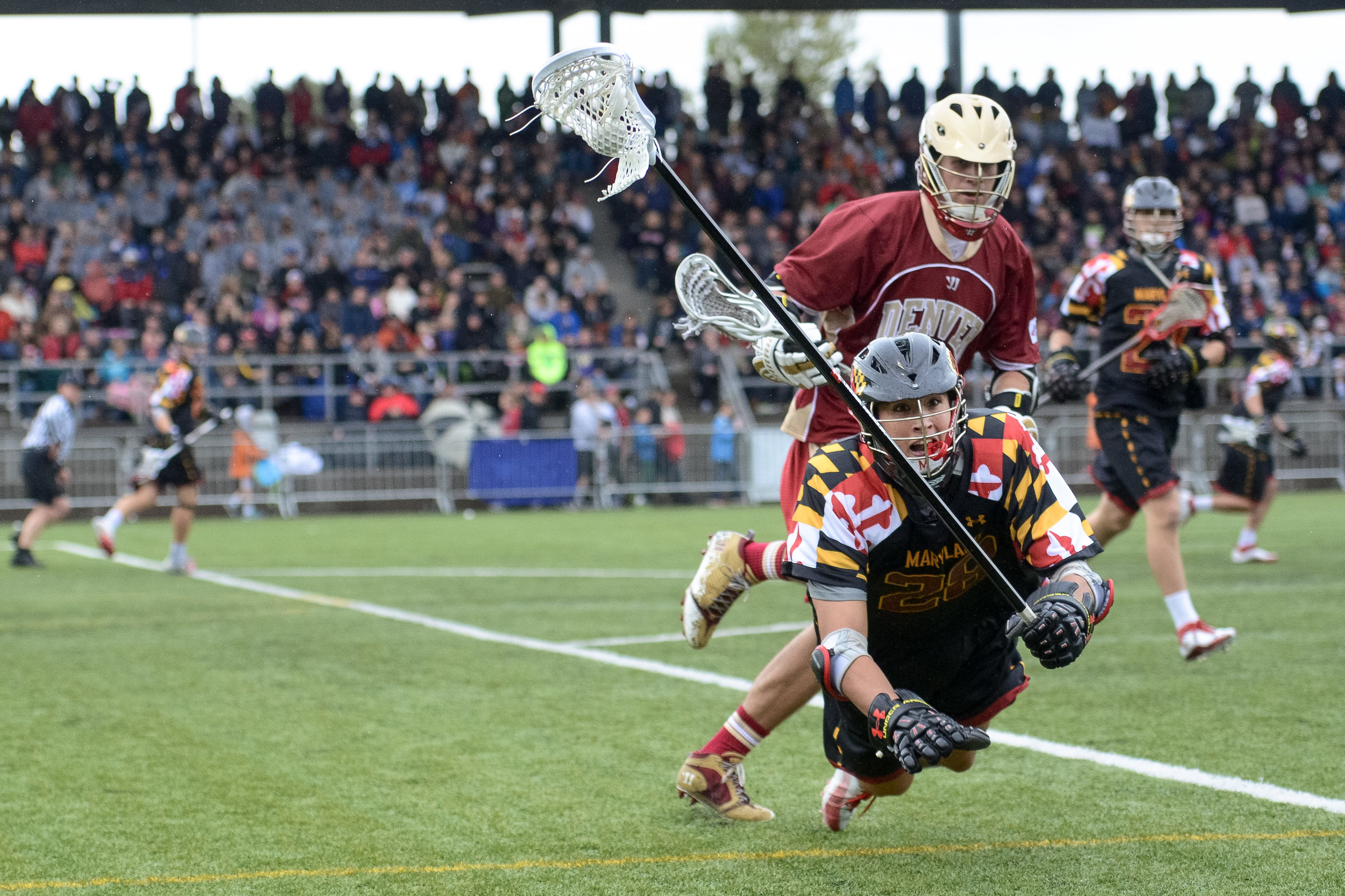 Maryland vs Denver, exhibition game