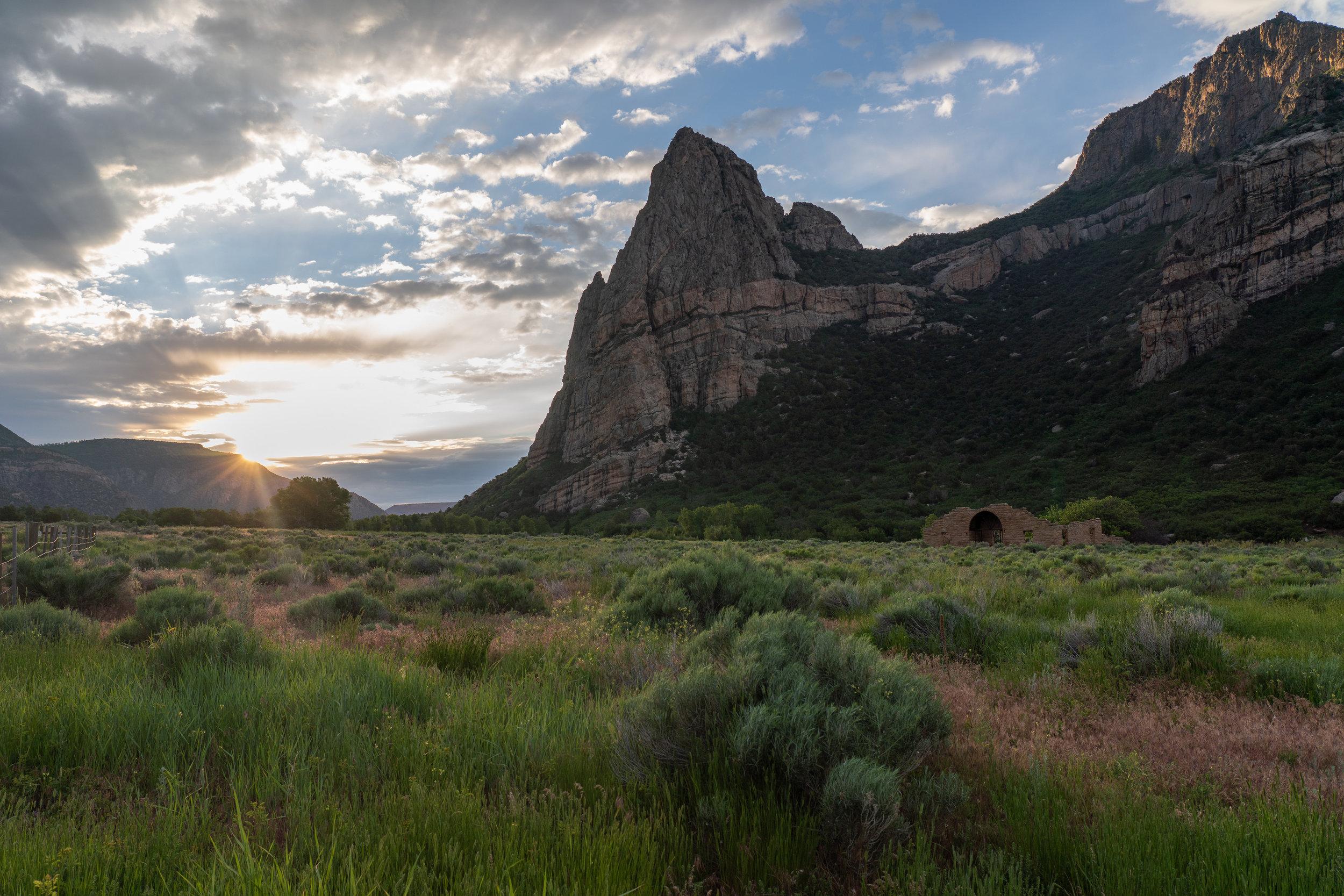 Dawn at Thimble Rock