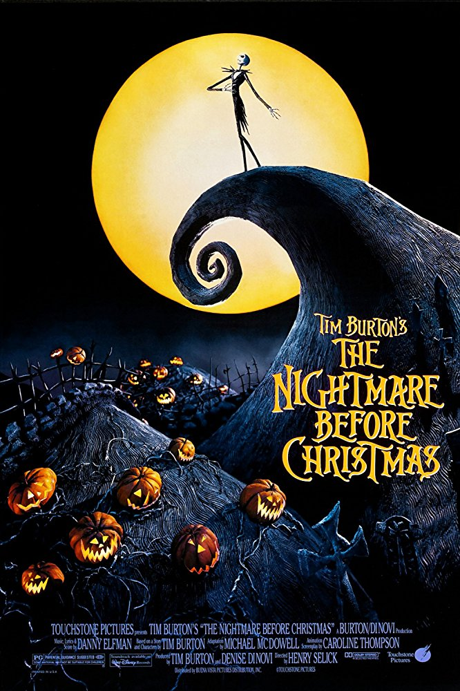 The Nightmare Before Christmas - For a girl who avoided anything Tim Burton for the first 25 years of her life, he sure is dominating this list. But, here we are again. Jack Skellington may look scary, but you end up rooting for him the whole way through. Jack & Sally forever.
