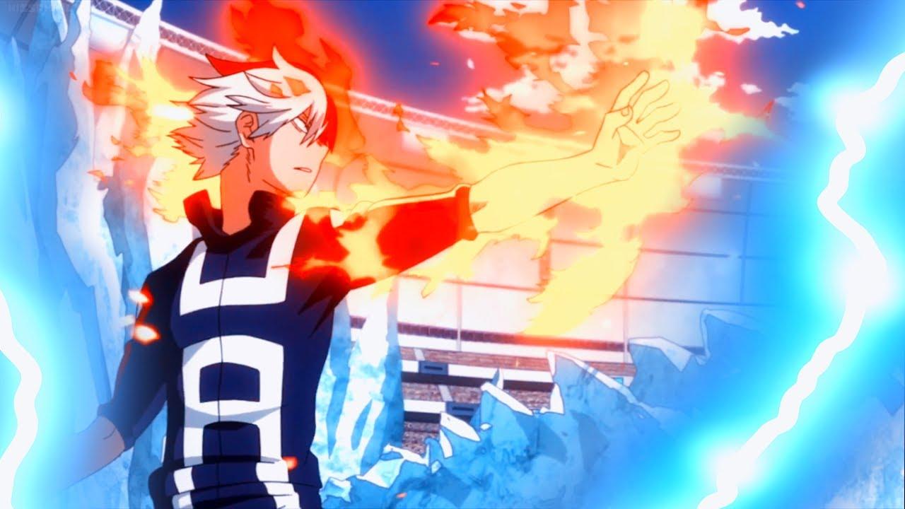 Todoroki My Hero Academia Season 2