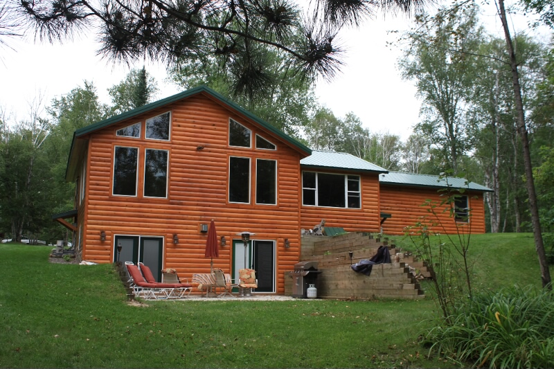 Family-size cabin for accommodations.  Please click on the image below to see more views of the property.