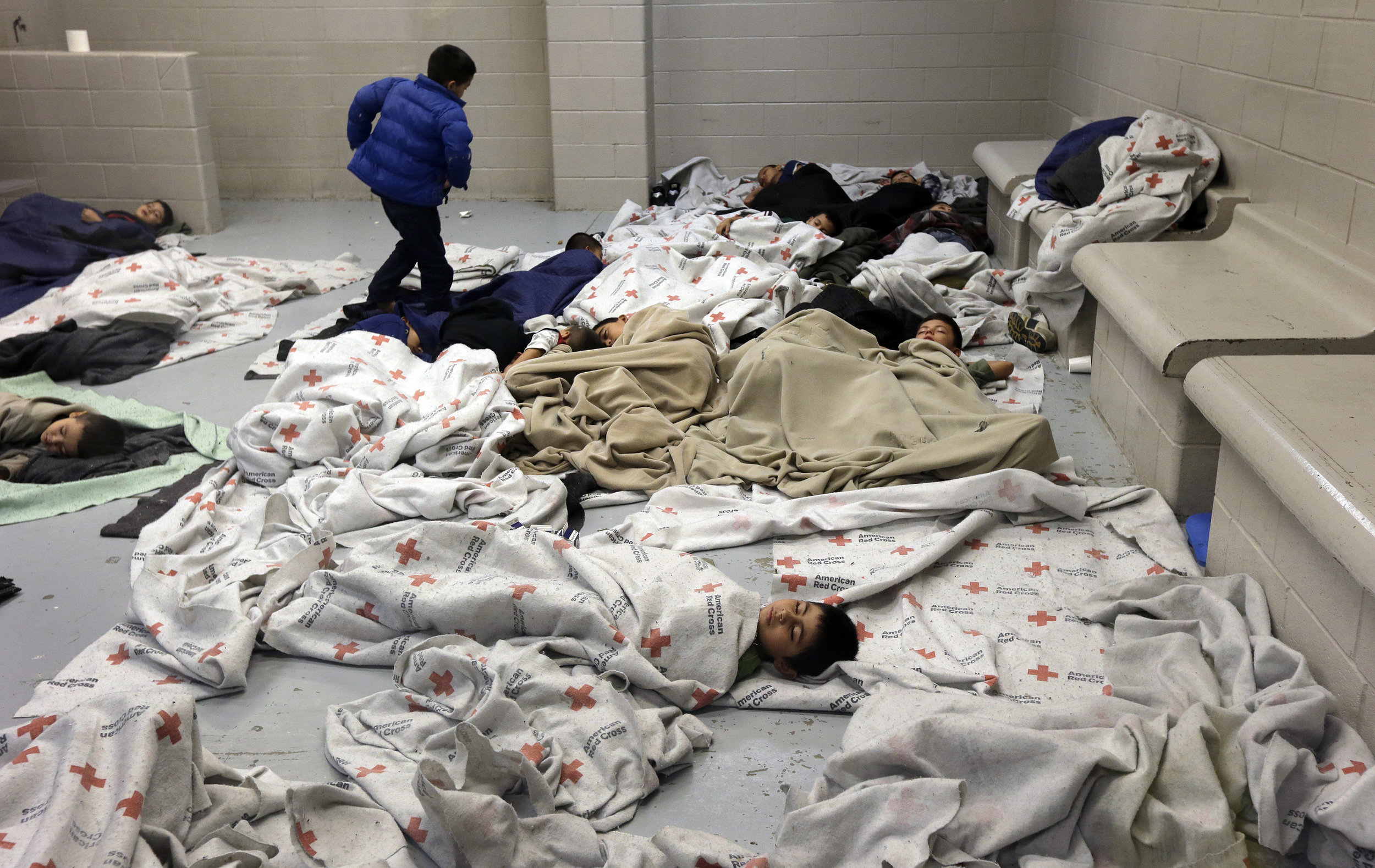 Immigrant children crammed into cells… and what next…?