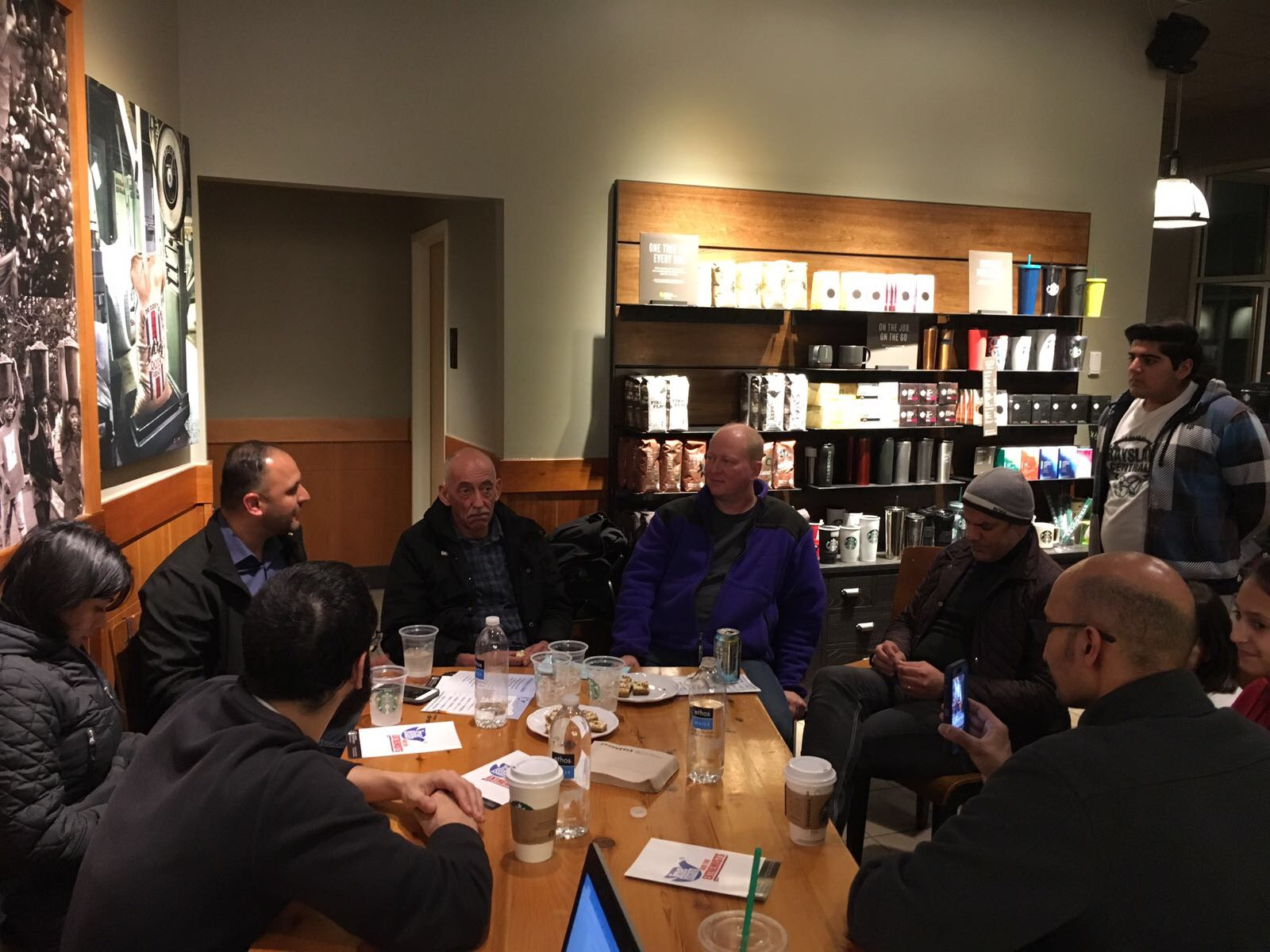 Strangers become friends during Coffee Cake & Islam sessions