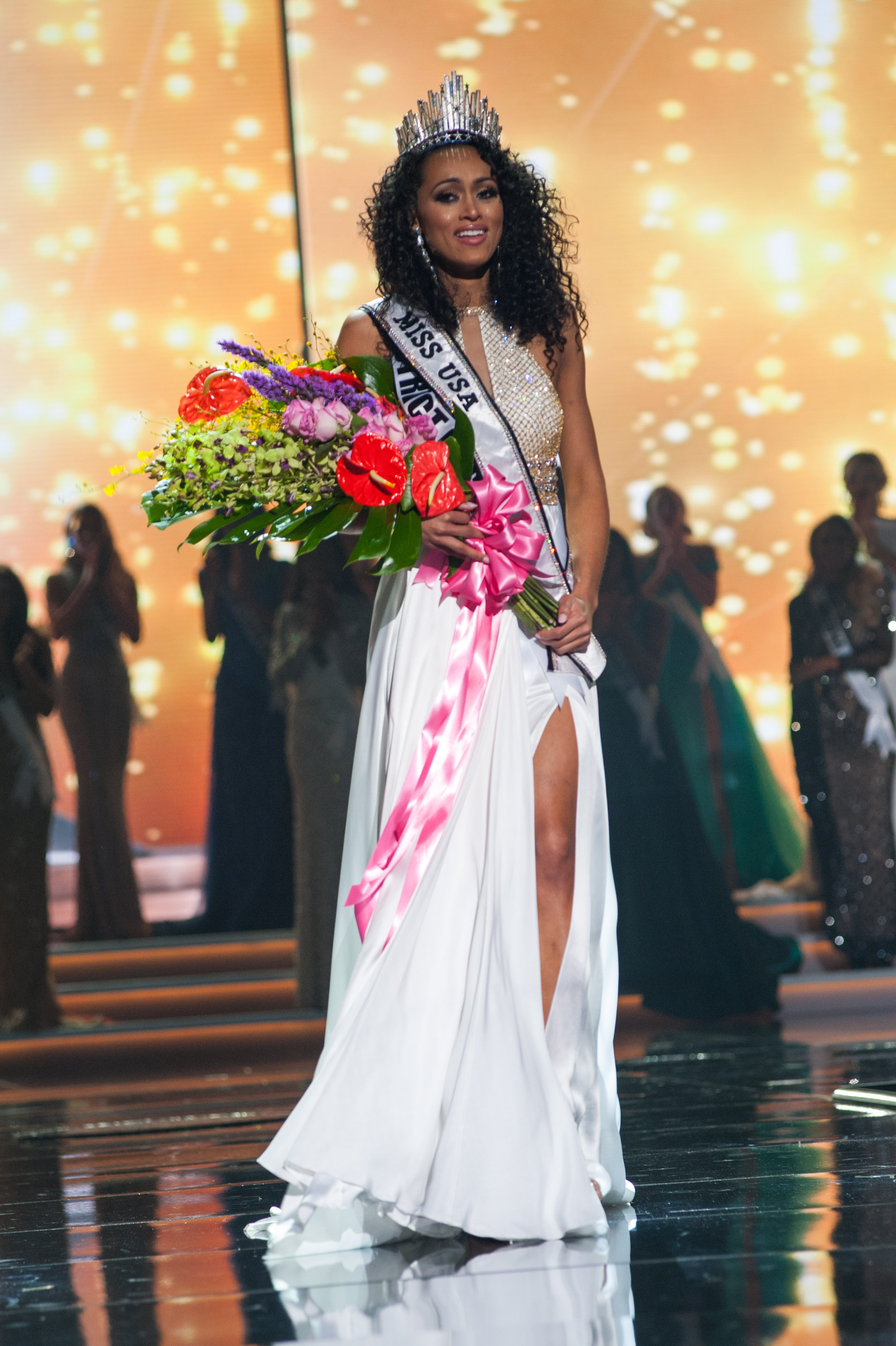 Kára McCullough, Miss District Of Columbia USA 2017. Photo courtesy of Patrick Prather for Miss USA