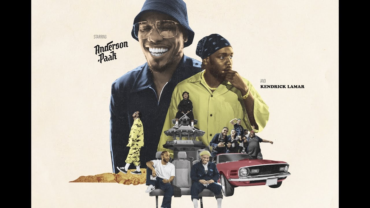 Song of the Month: October 2018 - Tints (ft. Kendrick Lamar) - Anderson .Paak