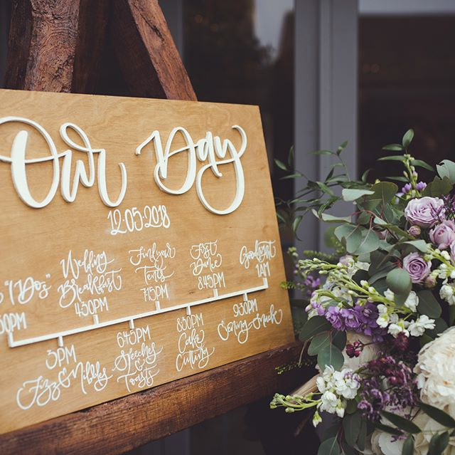 {S I G N A G E} . After England's loss and with it being our 2monthaversary (definitely a thing) I'm cheering myself up with wedding photos! Here are a few of the wooden and chalkboard signs from the day. I also can't stop dreaming about those amazing flowers by @bespokeflowerco 🌺🌸🌷 . 📸: @adamdrakephotography . #ukweddingstationer #woodensign #chalkboardsign #signage #weddingsign #orderoftheday #lasercut #creativewedding #calligraphy #moderncalligraphy #bespokecalligraphy #calligraphylove #weddingstationery #stationery #calligraphyuk #weddinglondon #calligraphylondon #ukwedding #calligraphystyle #modernlettering #weddingsign