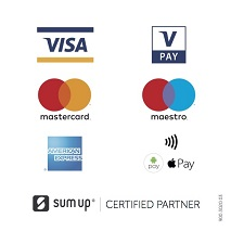 Payment methods accepted :  Cash, Debit or Credit Card,  Paypal  or Cheque